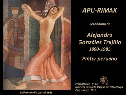 ALEJANDRO GONZALES TRUJILLO-APU-RIMAK