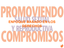 Promoviendo Compromisos - Family Care International …