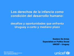 El trabajo de UNICEF en Uruguay