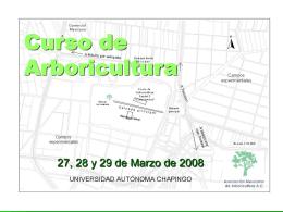 Curso de Arboriculutura