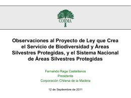 Actualidad del Sector Forestal y Maderero Nacional
