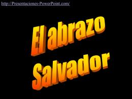 Abrazo Salvador