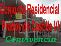 Session One: Overview - PRADOS DE CASTILLA IV BOGOTA