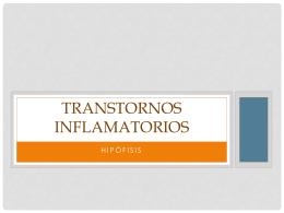 Transtornos Inflamatorios