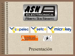 ASN ELECTRONICA - Alberto Sos Navarro