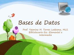Bases de Datos - Centro De Recursos Marista