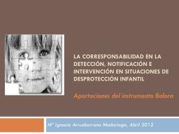 Tesis doctoral GRAVEDAD DE LAS SITUACIONES DE