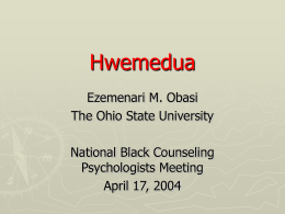 Hwemedua - Howard University