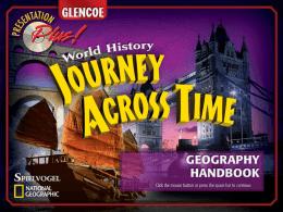 Journey Across Time - Bardstown City Schools