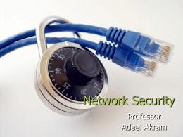 Network Security - University of Engineering and