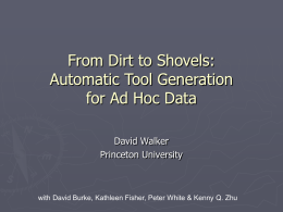 From Dirt to Shovels: Automatic Tool Generation for Ad …
