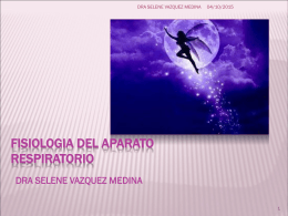 FISIOLOGIA DEL APARATO RESPIRATORIO