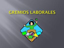GREMIOS LABORALES