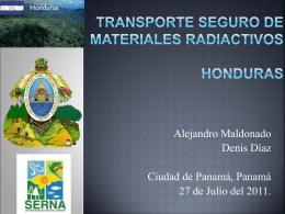 TRANSPORTE SEGURO DE MATERIALES Radiactivos …