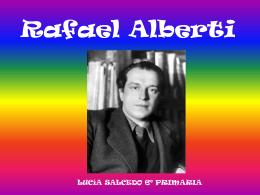 Rafael Alberti - CEIP ARTURO DUPERIER