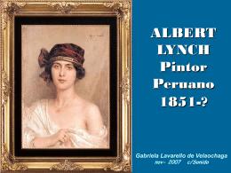 Albert Lynch, pintor peruano - Holismo Planetario en la Web