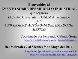 Evento sobre Desarrollo Industrial