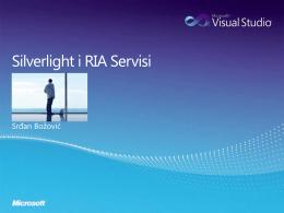 Silverlight i RIA Servisi