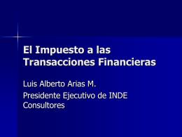 Diapositiva 1 - INDE Consultores