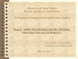Tema 2 - Aspectos Generales del Sistema Contable en …