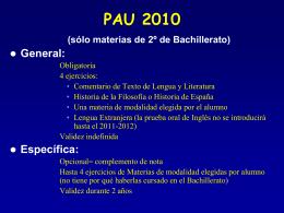 PAU 2010