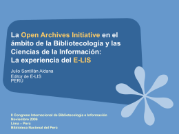 Title goes in here - Welcome to E-LIS repository - E