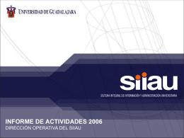 Presentacion siiau 2007
