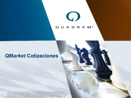 QMarket Cotizaciones