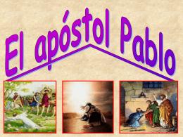 Apostol pablo - Iglesia de Cristo