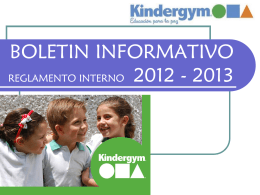 BOLETIN 2009 - GYMBOREE