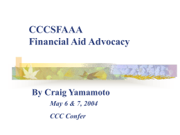 Advocay - CCCSFAAA