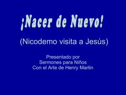 (Nicodemus visits Jesus)