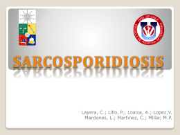 Sarcosporidiosis