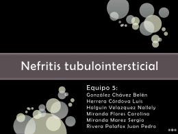 Nefritis tubulointersticial