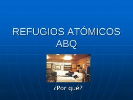 REFUGIOS ATOMICOS ABQ