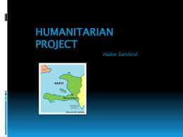 Humanitarian Project
