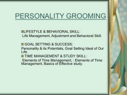 PERSONALITY GROOMING - Amazon Web Services