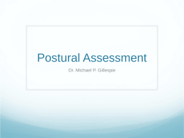 Postural Assessment - Chiropractor Manhattan