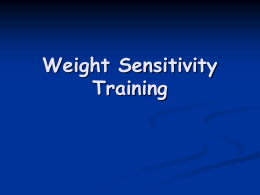 Patient Sensitivity Training