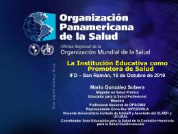 Escuelas Promotoras de Salud (EPS)