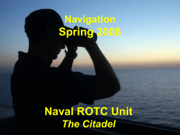 Marine Navigation and Naval Operations I