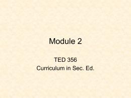 Module 2 - Misericordia University