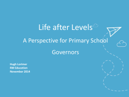 Life after Levels - RM Education Blog