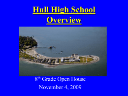 Hull High School Overview