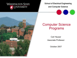 Computer Engineering Program