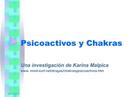 Chakras y Psicoactivos
