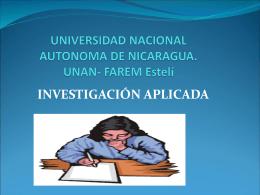 UNIVERSIDAD NACIONAL AUTONOMA DE NICARAGUA. …