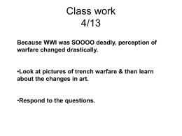 Class work 4/13