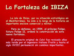AG2- La fortaleza de Ibiza
