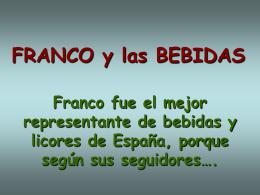 AG2- Franco y las bebidas
